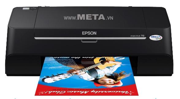 Máy in phun màu Epson Stylus Printer T11 đem lại những bản in sống động.