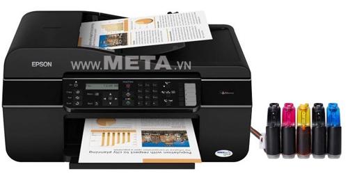 Máy in phun màu đa chức năng Epson TX 510 FN hỗ trợ công việc văn phòng hiệu quả.
