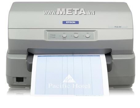 Máy in kim EPSON PLQ 20M dễ thao tác sử dụng, in nhanh và sắc nét.