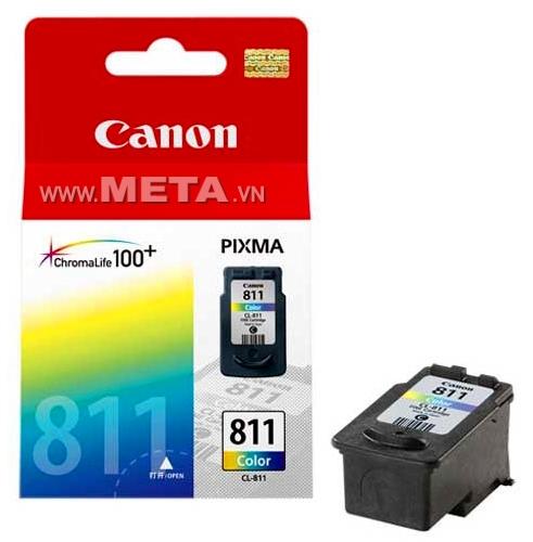 Mực máy in Canon CL 811 (màu) - Dùng cho máy in phun màu Canon PIXMA iP2770