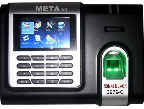 Máy chấm công vân tay, thẻ cảm ứng Ronald Jack 3979C