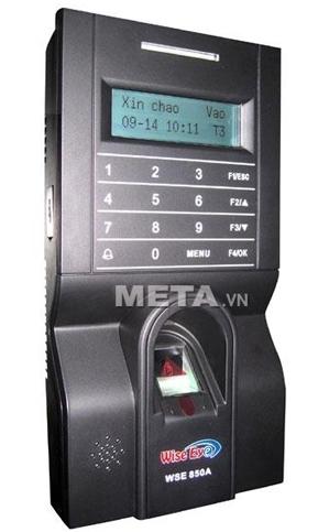 Máy chấm công bằng vân tay, thẻ cảm ứng và kiểm soát cửa Wise Eye WSE 850A