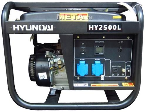 Máy phát điện xăng Hyundai HY2500L đem lại cho bạn nguồn điện trong những ngày mất điện.