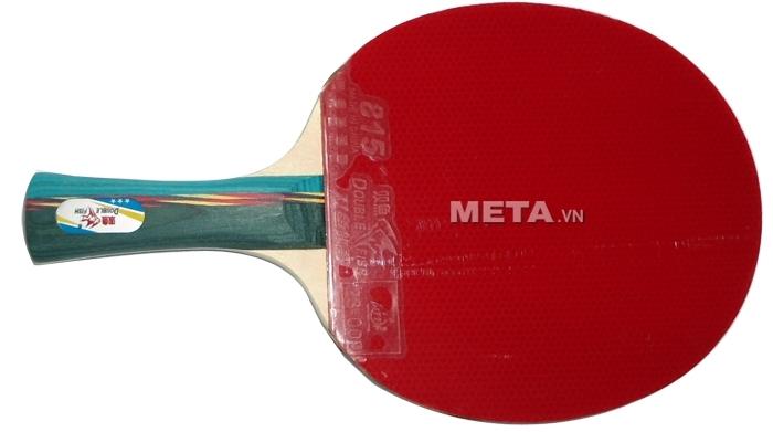 Mặt vợt bóng bàn Double Fish DF-3AC màu đỏ.