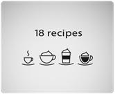 Máy pha cà phê Melitta Caffeo Barista TS giúp bạn có 18 loại cà phê khác nhau