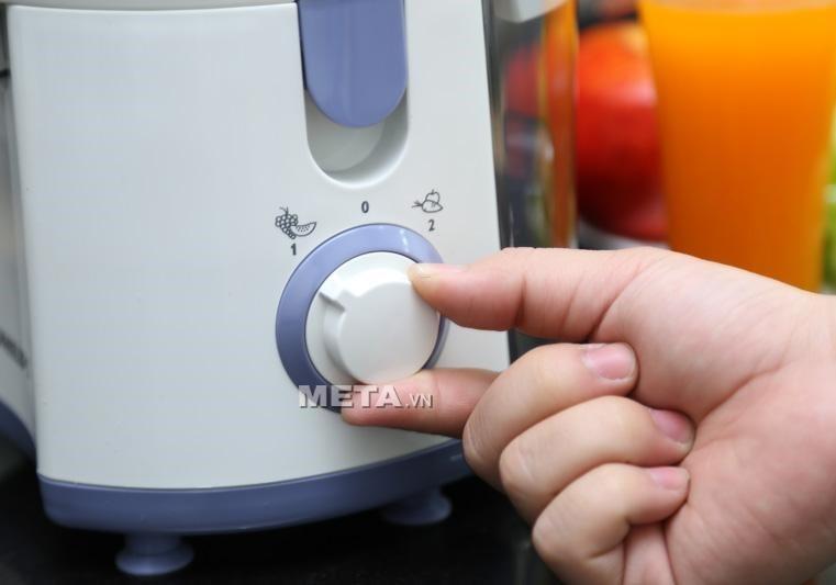 Nút điều chỉnh tốc độ hoạt động của máy