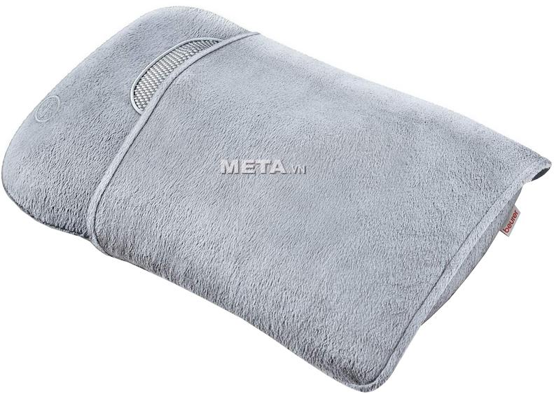 Vỏ bọc ngoài của gối massage Beurer MG145 có thể tháo ra và giặt sạch