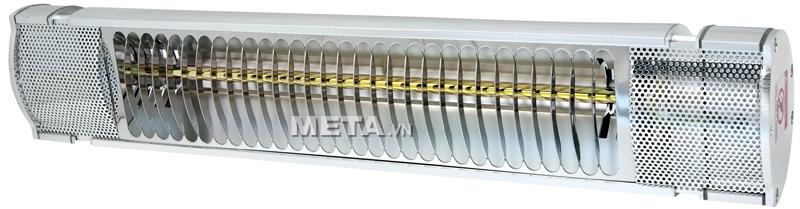 Đèn sưởi Heizen HE-IT110 thiết kế kiểu dáng hiện đại, sang trọng.