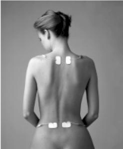 Máy massage xung điện TDP điều trị khu vực đau ở vai và xương chậu