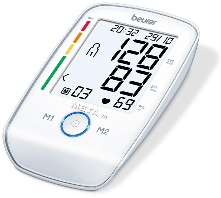 Beurer BM45 thỏa mãn các yêu cầu kỹ thuật của tiêu chuẩn chất lượng Châu Âu.
