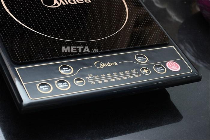 Bếp từ Midea SV19EH có 5 chế độ nấu tự động