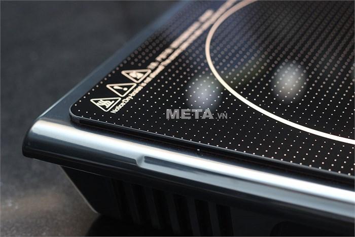 Bếp điện từ Midea MI-SV19EH tăng giảm nhiệt độ và công suất tùy ý