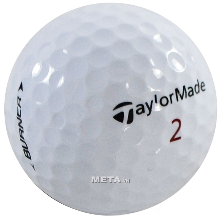 Bóng golf TaylorMade Burner Newest có nhiều ô tròn trũng trên bóng