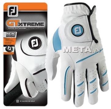 Găng tay golf nam FootJoy GTXTREME MLH ASST AS HD 64819 màu trắng pha xanh.
