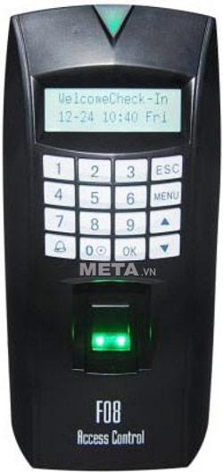 Máy chấm công kiểm soát cửa bằng vân tay cảm ứng MITA F08