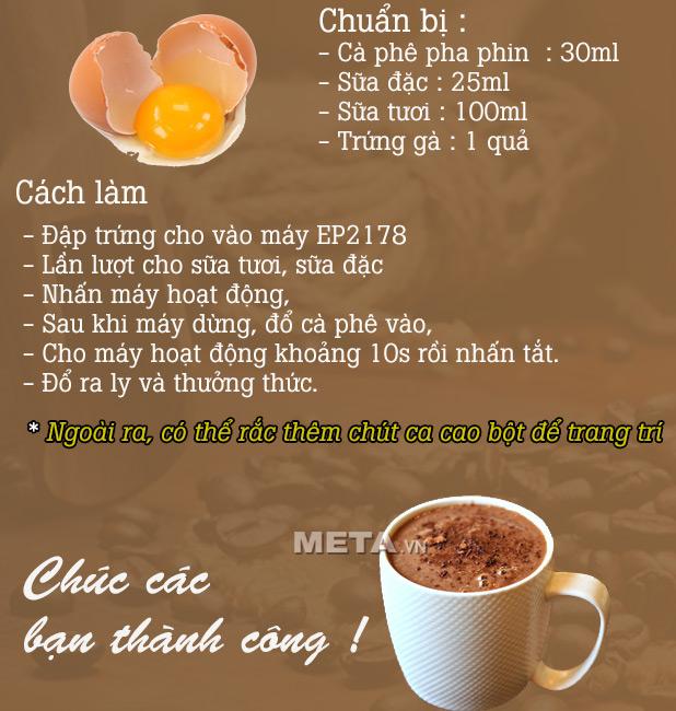 Cách tạo bọt cà phê trứng với máy đánh sữa Kahchan EP2178