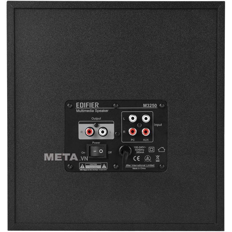 Loa Edifier M3250 có jack 3.5mm.