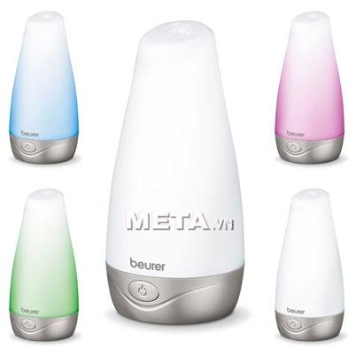 Đèn phun tinh dầu, diệt khuẩn, làm sạch không khí Beurer LA30 có nhiều màu sắc để lựa chọn.