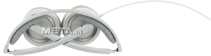 Tai nghe Sennheiser PX 200-II White gấp gọn, dễ dàng di chuyển