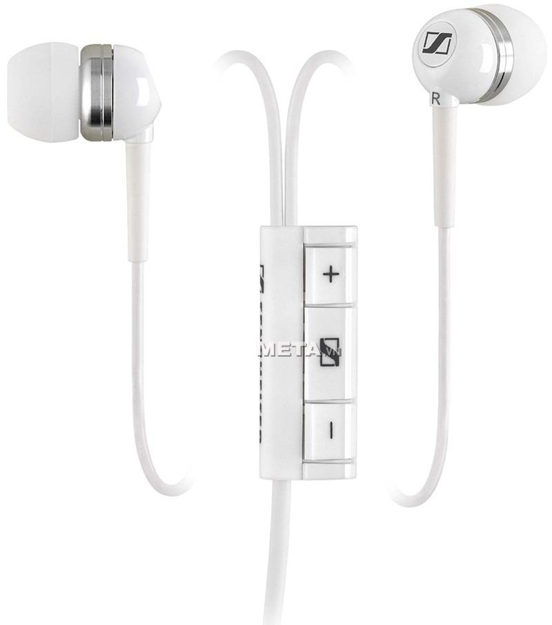 Tai nghe Sennheiser MM70I có khả năng chặn tiếng ồn hiệu quả - giúp bạn thoải mái nghe nhạc