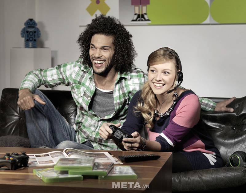 Tai nghe Sennheiser X2 có thiết kế sử dụng cho người chơi game XBOX 360, the S, Core, Pro, Elite...