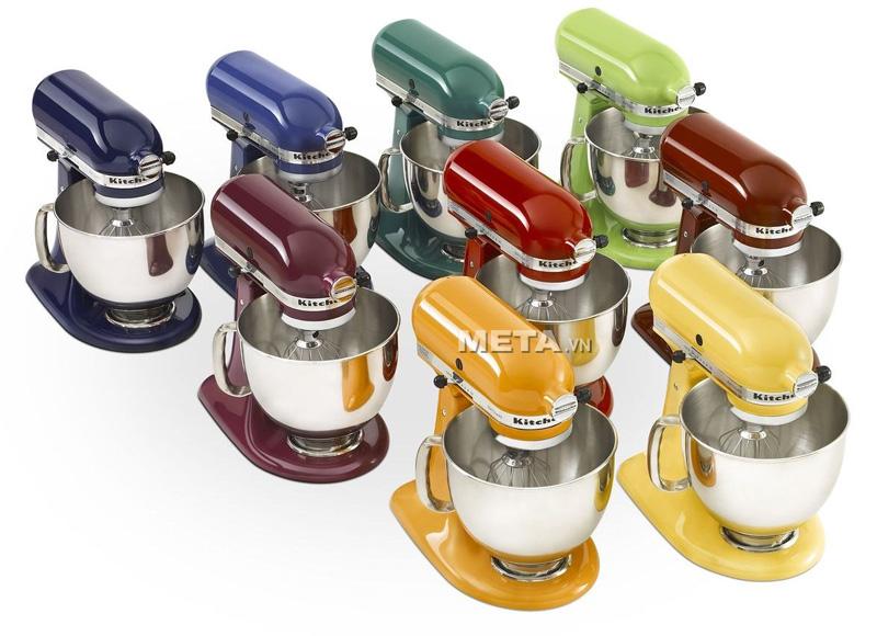 Máy trộn đa năng trụ nghiêng KitchenAid 5KSM150PSEER đa dạng màu sắc