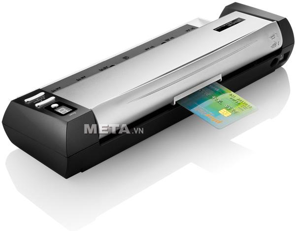 Máy scan Plustek D430 có thể quét thẻ nhựa
