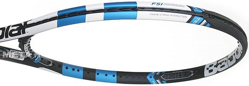 Vợt Tennis Babolat Pure Drive Team 101238 có kích cỡ mặt vợt 100in² / 645cm².