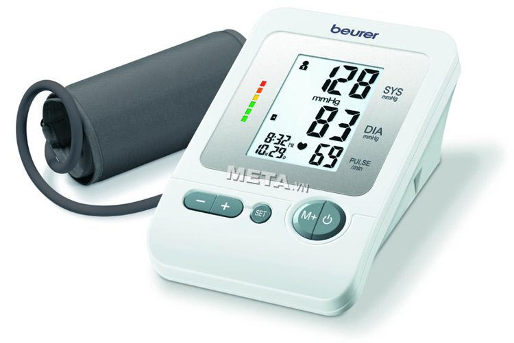 Máy đo huyết áp bắp tay Beurer BM26 có thiết kế nhỏ gọn, đơn giản