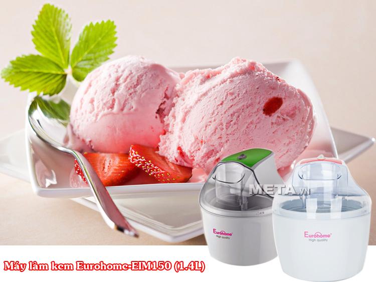 Máy làm kem Eurohome-EIM150 (1.4L)