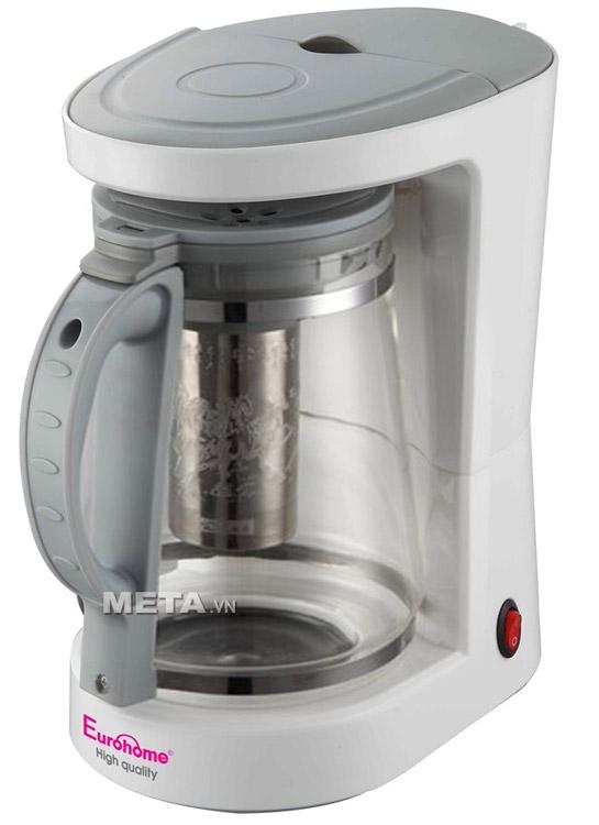 máy pha trà và cà phê Eurohome ECM-140 thiết kế hiện đại đáp ứng các tiêu chuẩn nghiêm ngặt của Châu Âu