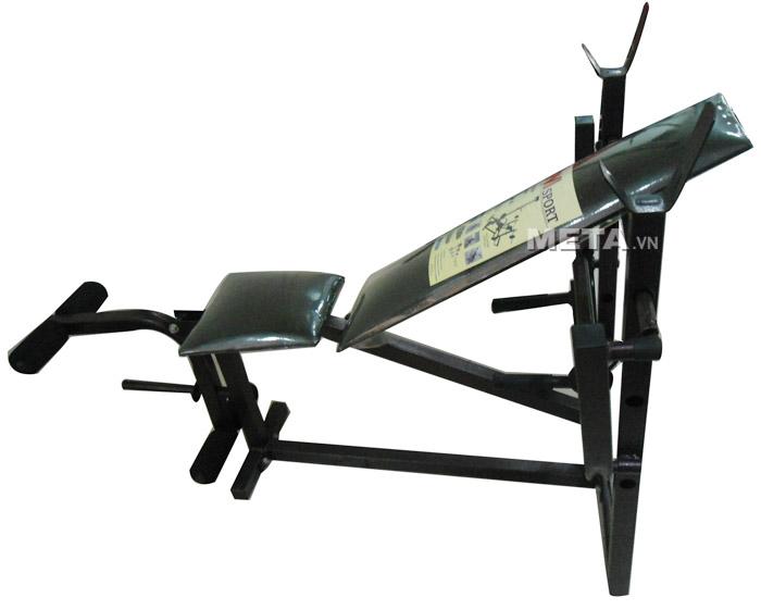 Ghế tạ đa năng VietFit G-304 có đệm da nằm êm ái khi tập luyện