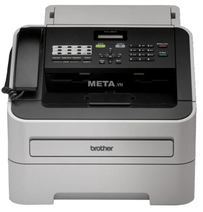 Máy in Laser đen trắng đa chức năng Brother FAX-2840 có thể in, fax và copy