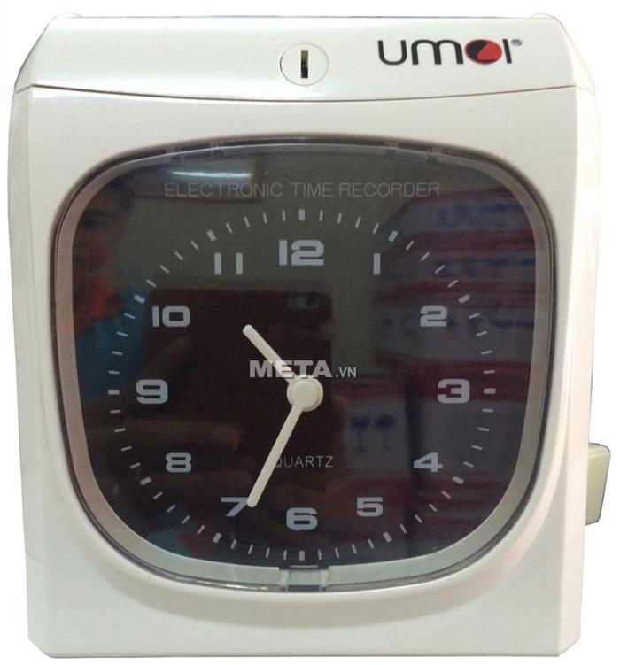 Máy chấm công thẻ giấy UMEI CD-9820 thích hợp cho công ty có số lượng nhân viên từ 10 đến 150 người.