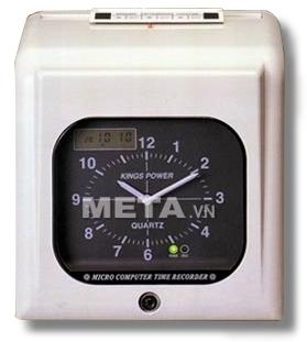 Máy chấm công thẻ giấy Kings Power 670A giúp bạn tiết kiệm thời gian quản lý nhờ tốc độ chấm công nhanh, đơn giản