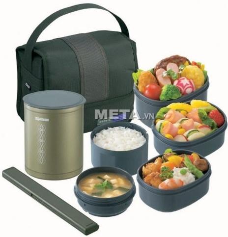 Cặp lồng cơm giữ nhiệt Zojirushi SZ-DA03 giúp bạn có những bữa ăn ngon miệng