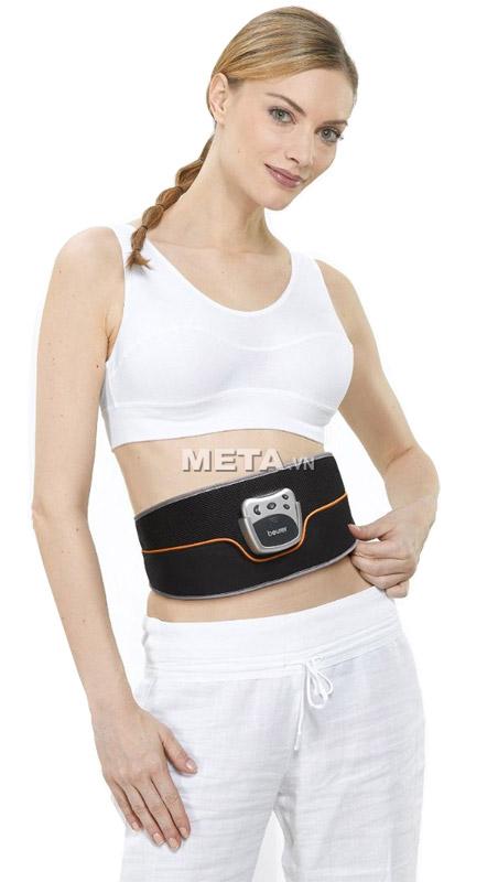 Đai massage bụng Beurer EM35 giúp bạn có vòng bụng lý tưởng