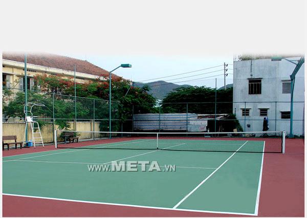 Lưới tennis không thụng 325348 C dùng luyện tập chơi tennis