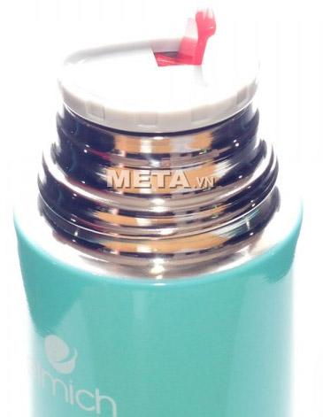 Bình giữ nhiệt Elmich 2246302 inox 500 ml F5 thích hợp đựng đồ uống đi làm, đi học, đi chơi.