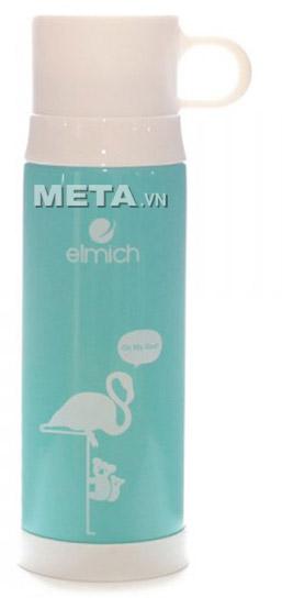 Bình giữ nhiệt Elmich 2246302 inox 500 ml F5 thuận tiện cho cả việc giữ nóng và giữ lạnh.