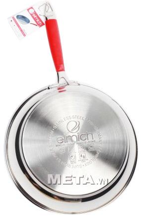 Chảo inox chống dính đáy từ Elmich 26cm 2355583 dùng được trên bếp từ.