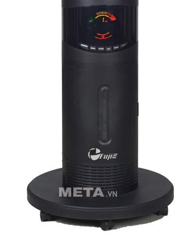 Quạt phun sương đa năng FujiE MF2000 chân đế chắc chắn, dễ dàng di chuyển bằng bánh xe.