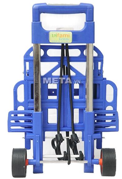 Xe đi chợ đa năng RTV-410S có thể gấp gọn khi không sử dụng.