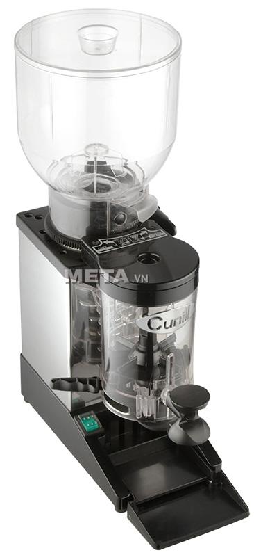 Máy xay cà phê Cunill Space Inox có màu xám sang trọng