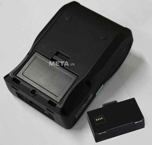 Máy in mã vạch Godex MX 20 sử dụng pin Lithium-ion với độ bền cao