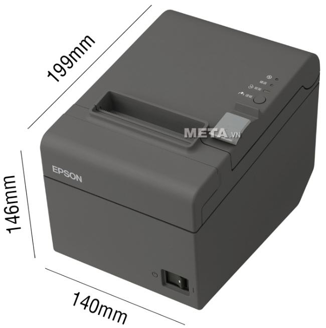 Kích thước của máy in hóa đơn Epson TM-T82