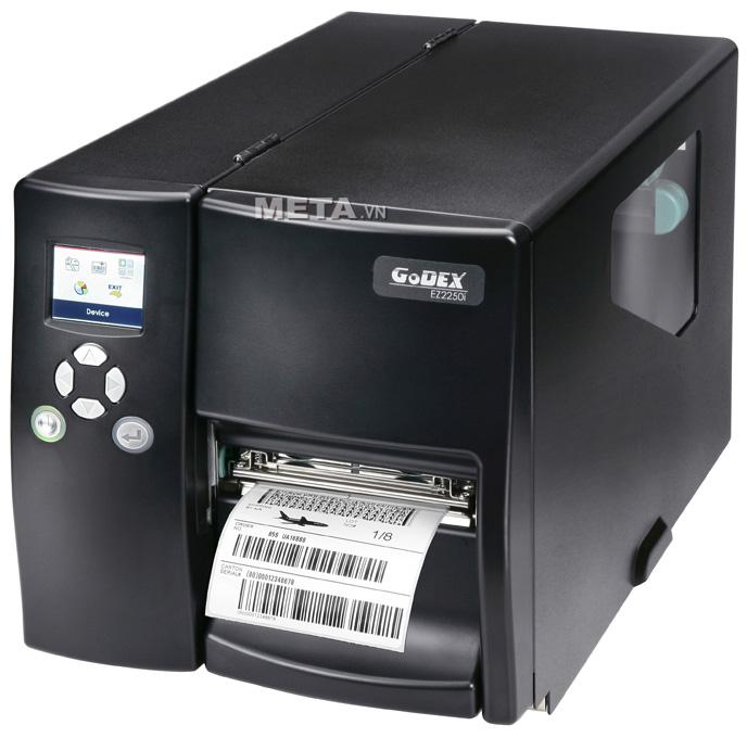 Máy in tem nhãn Godex EZ2250i là máy in mã vạch công nghiệp