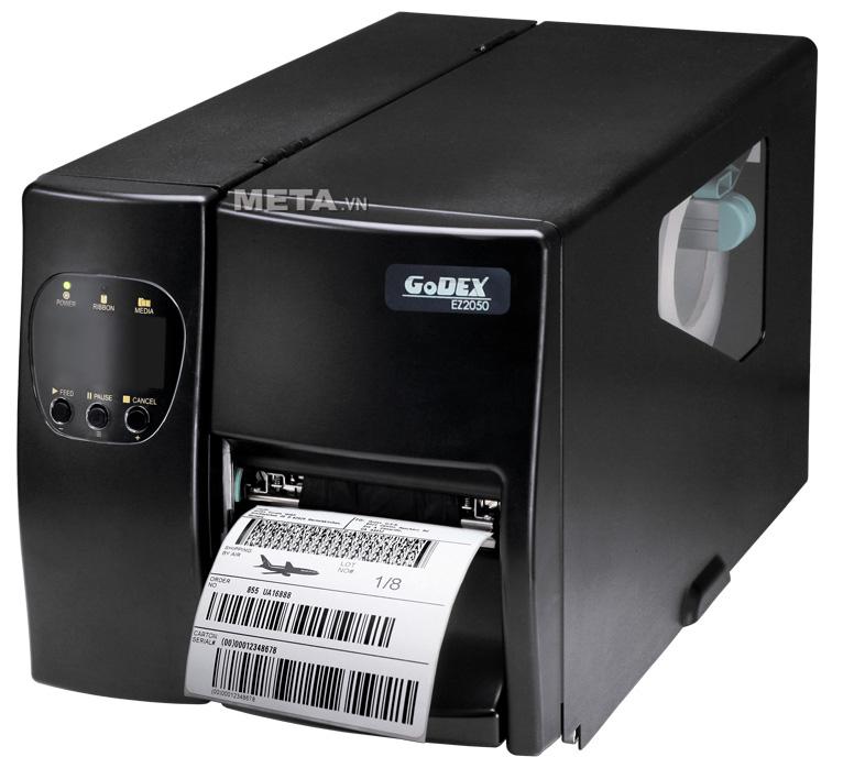 Máy in mã vạch Godex EZ-2050 là máy in mã vạch công nghiệp mới nhất hiện nay