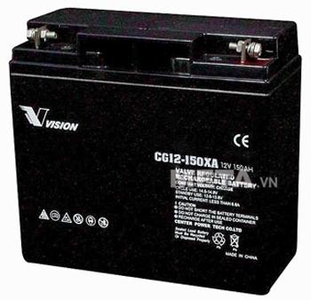 Ắc quy viễn thông Vision 150Ah công nghệ Gel