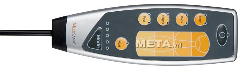 Điều khiển của đệm massage thư giãn toàn thân Medisana MM825